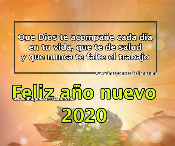 Frases Cristianas Feliz Año Nuevo 2020 Y 2021 Imagenes Bonitas