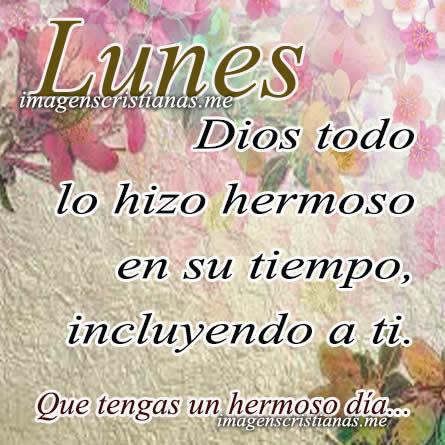 Frases Cristianas De Lunes Con Imagenes