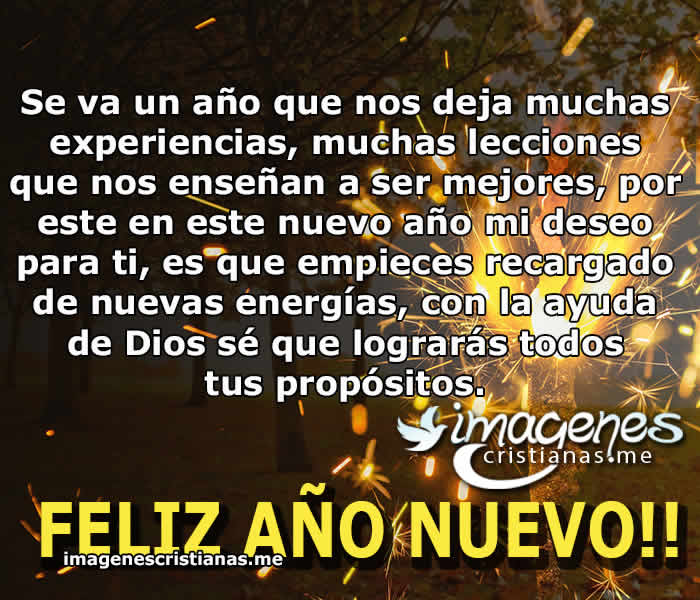 Frases De Ano Nuevo 2019 Tarjetas Cristianas Bonitas