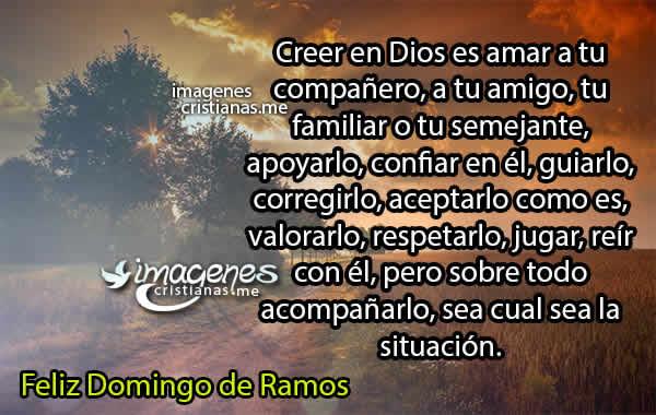 Imagens E Frases De Domingo: Frases Cristianas De Domingo De Ramos Reflexiones