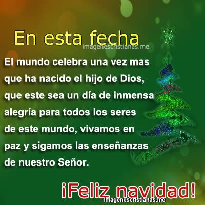 Imagenes cristianas de navidad para saludar im genes - Felicitaciones de navidad cristianas ...