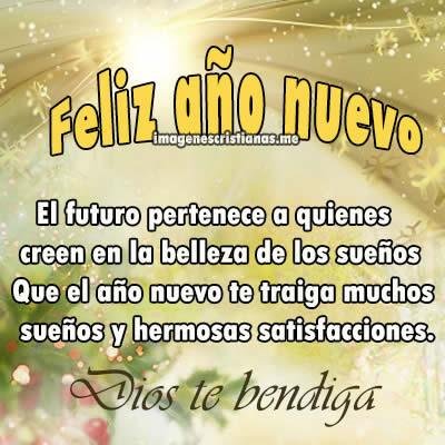 Frases De Feliz Año Nuevo Con Imagenes Cristianas Para Amigos