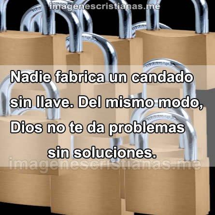 Dios No Te Da Problemas Sin Soluciones