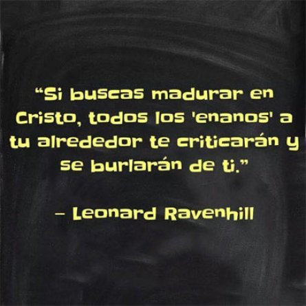 Leonard Ravenhill Reflexiones Cristianas