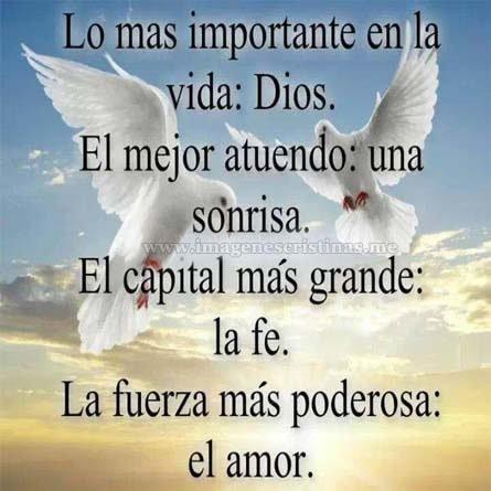 Lo Mas Importante En La Vida Dios
