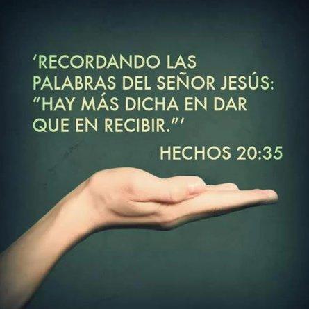 Mejor Dar Que Recibir Reflexion Jesus