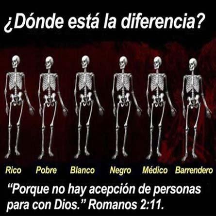 No Hay Diferencia Para Dios