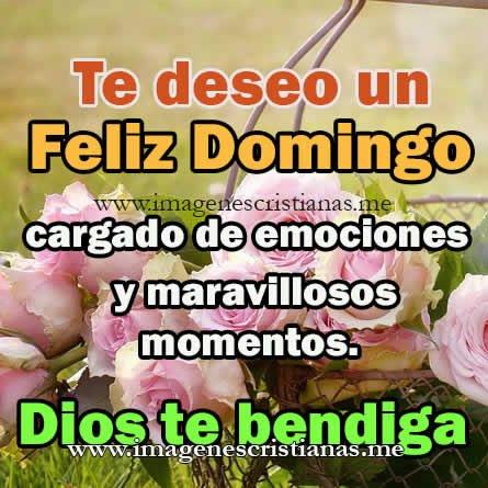 Nuevas 120 Imagenes Cristianas Feliz Domingo Frases