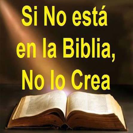 Si No Esta En La Biblia