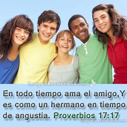 Amar Al Amigo Proverbios 17:17