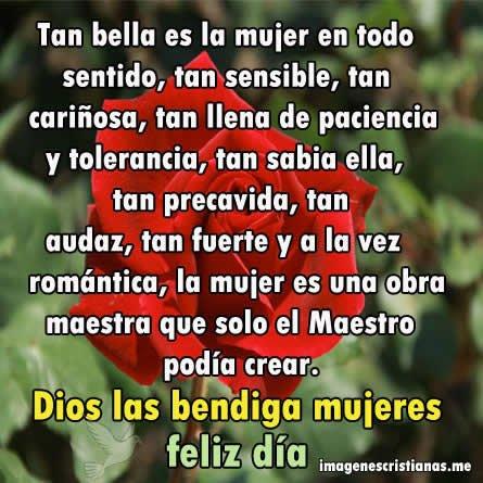 Carteles Cristianos Por El Dia De La Mujer - Imagenes Cristianas ...