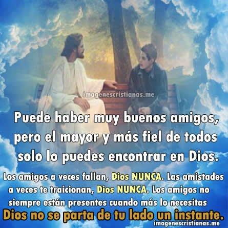 Frases De Dios De Amistad
