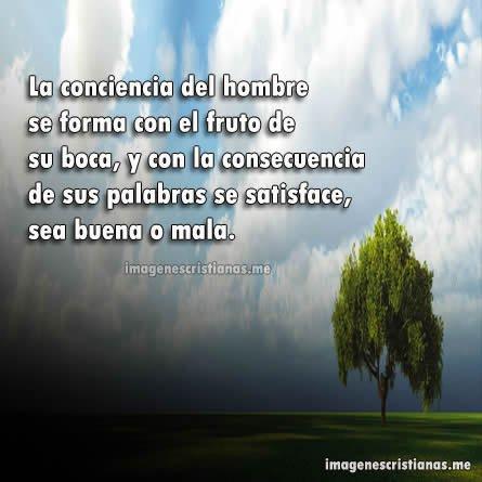 Imagenes Cristianas: La Conciencia Del Hombre