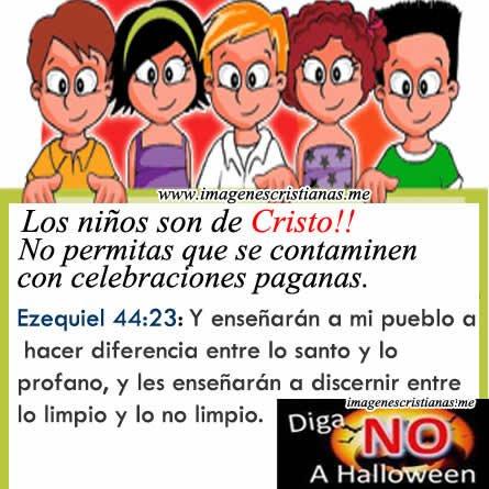 Imagenes Cristianas Niños Para Halloween