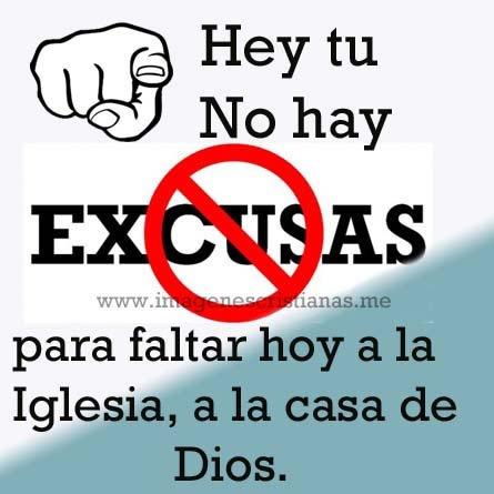 Ir A La Iglesia Excusas