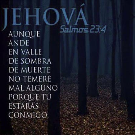 Jehova Esta Conmigo No Temere Mal Alguno