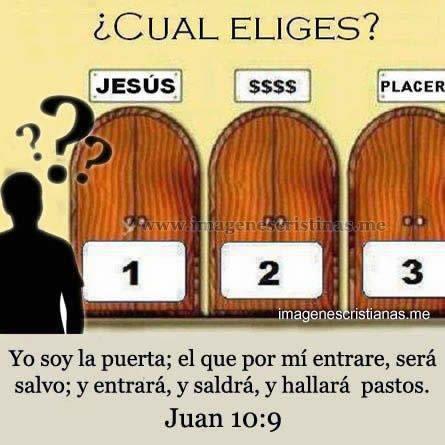 Jesus La Puerta Para Ser Salvo