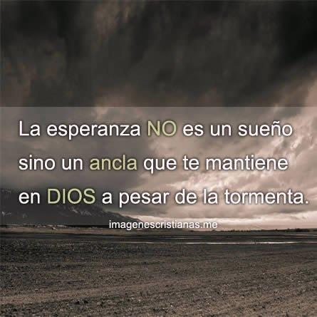 La Esperanza En Dios Atraviesa Cualquier Tormenta