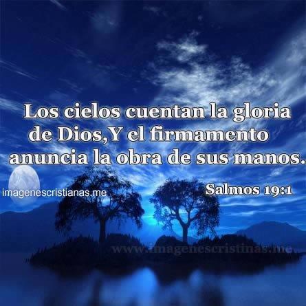 Los Cielos Cuentan La Gloria Salmos
