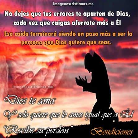 No Dejes Que Tus Errores Te Aparten De Dios
