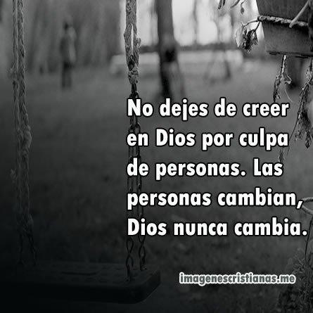 Nunca Dejes De Creer En Dios