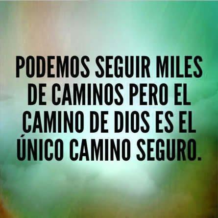 Seguir El Camino De Dios Es Seguro