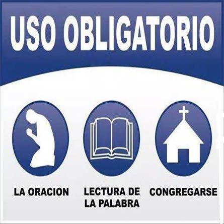 Uso Obligatorio Oracion Biblia Congregarse