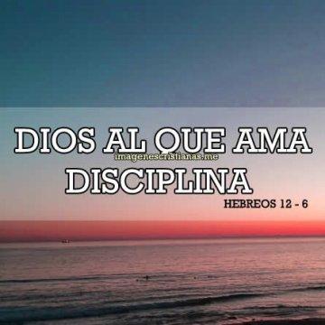 Dios Al Que Ama Disciplina
