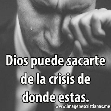 Dios Puede Sacarte De La Crisis