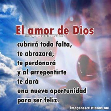 El Amor De Dios Hace Feliz Al Hombre