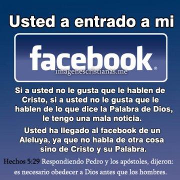 En Mi Facebook Se Habla De Dios