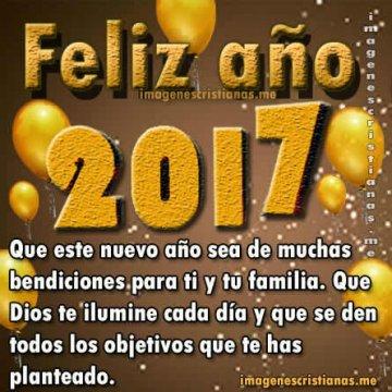 Feliz Año Nuevo 2017 Frases Cristianas