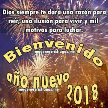 Frases Cristianas Ano Nuevo 2018 Con Imagenes