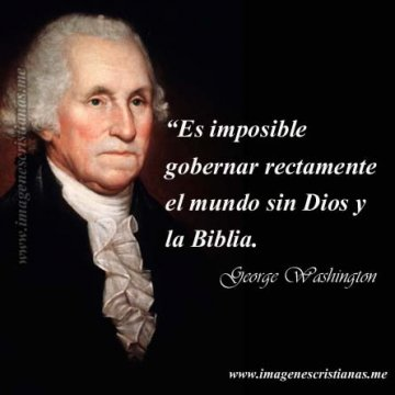 George Washington Frases De Dios
