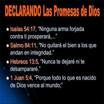 Imagenes Biblicas Promesas De Dios