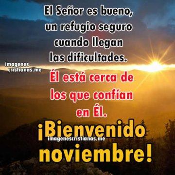 Imagenes Cristianas Bienvenido Noviembre Mensajes Dios