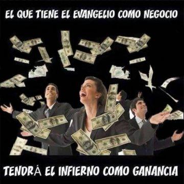 Imagenes Cristianas El Evangelio Como Negocio