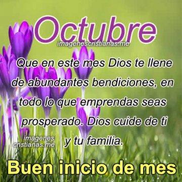 Imagenes Cristianas Octubre Frases Bonitas