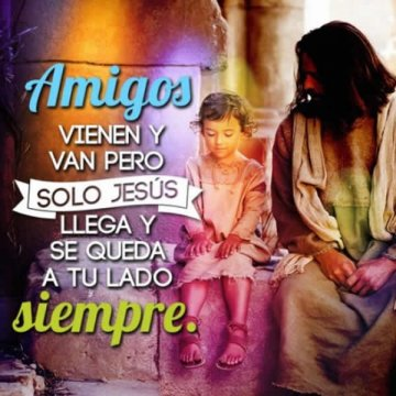 La Amistad De Jesus Es La Mejor Reflexion