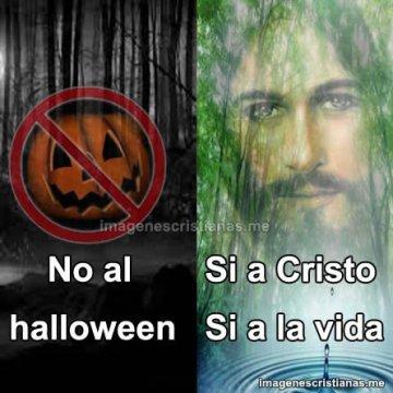 No Al Halloween Si A Cristo Imagenes