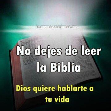 No Dejes De Leer La Biblia