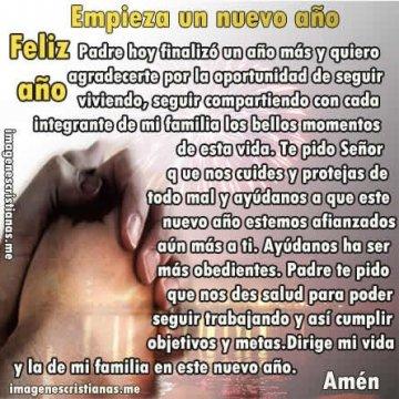 Oracion De Año Nuevo