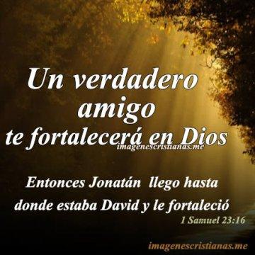 Un Verdadero Amigo Te Fortalecera En Dios
